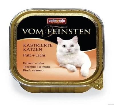 ANIMONDA Cat Vom Feinsten Kastrierte Kalakutiena + lašiša 100g