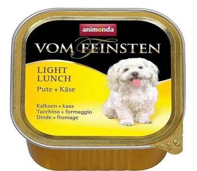 ANIMONDA Dog Vom Feinsten Light Lunch skonis: kalakutiena su geltonu sūriu 150g