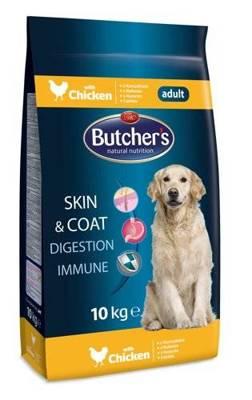 BUTCHER'S Skin&Coat Digestion Immune Chicken (vištiena) 10 kg