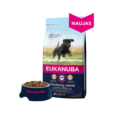 EUKANUBA Puppy&Junior Medium Breed 15kg