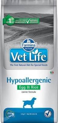 FARMINA Vet Life Dog Hypoallergenic Egg & Rice 12kg