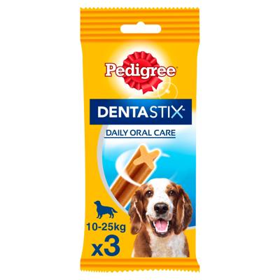 PEDIGREE DentaStix (vidutinių veislių) dantų priežiūros skanėstai šunims 3 vnt. - 77g