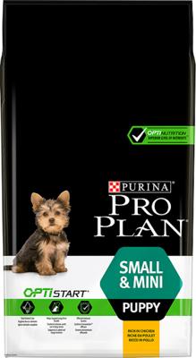 Purina Pro Plan Small & Mini Puppy Optistart, viščiukas ir ryžiai 7kg