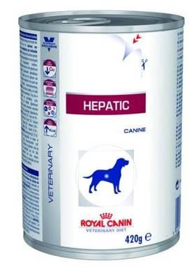 ROYAL CANIN Hepatic HF 16 420g skardinė