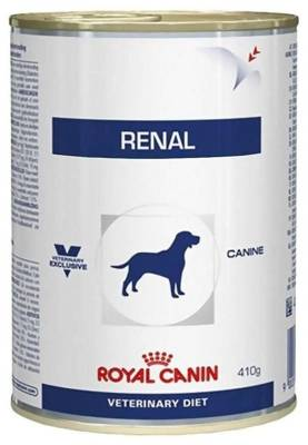 ROYAL CANIN Renal Canine 410g skardinė