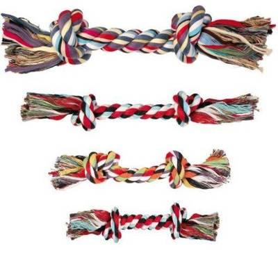 TRIXIE Įvairių dydžių surištų medvilninių virvių virvė