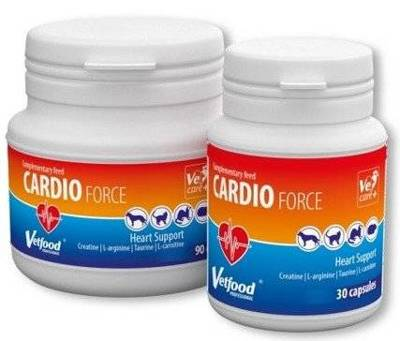 VETFOOD Cardioforce 30kaps.