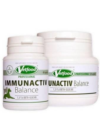 VETFOOD Immunactiv Balance 60 kaps.