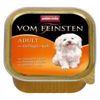 ANIMONDA Dog Vom Feinsten Adult skonis: paukštiena ir veršiena 150g