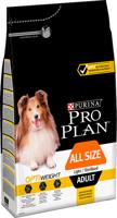 Purina Pro Plan Adult Light Optiweight Sterilised, viščiukas ir ryžiai 14kg