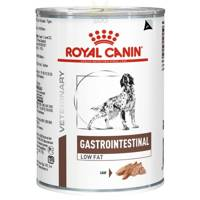 ROYAL CANIN Gastro Intestinal Low Fat LF22 410g skardinė